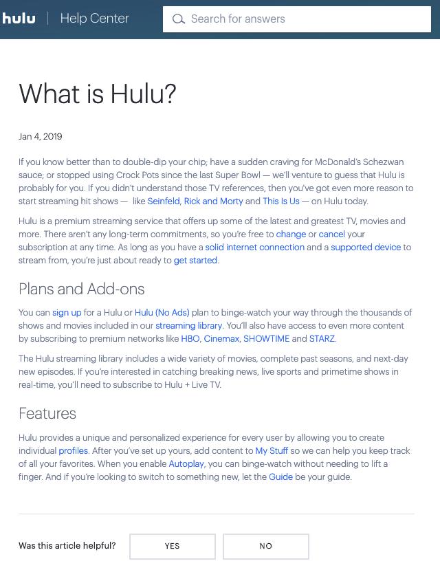 Hulu – Jourdyn Heilinger